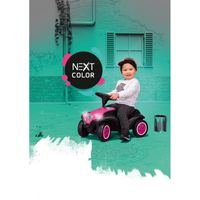 Big Bobby Car Next Różowy Jeździk Światła Led Klakson