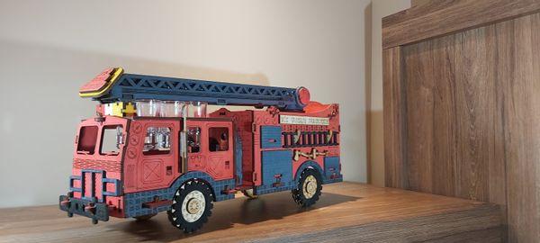 Karafka wóz straż prezent dla strażaka