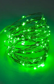 MIKRO LAMPKI LED NA DRUCIKU - 300 LED - ZIELONY L9118G