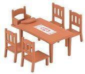 Sylvanian Families Zestaw do jadalni - stół i krzesła zdjęcie 1