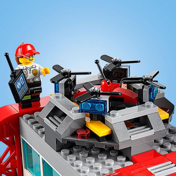 Lego City Remiza Strażacka 60215 Arenapl
