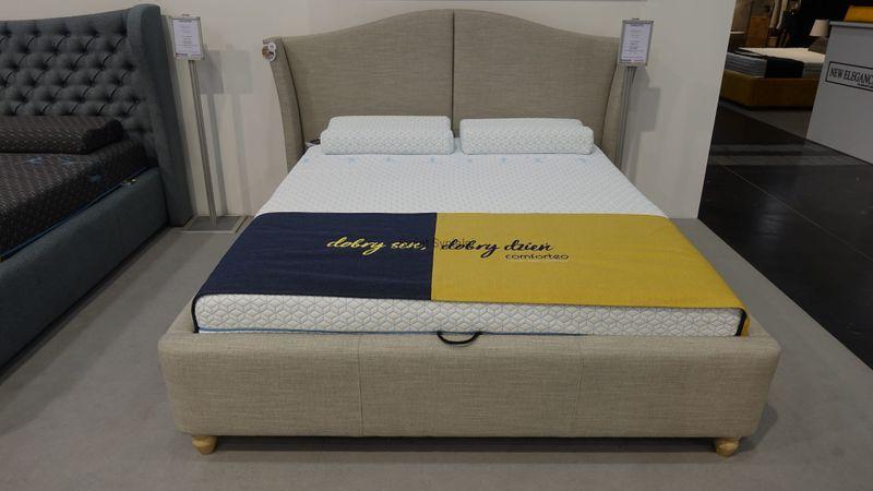 Łóżko Tapicerowane CHARLI 160x200+stelaż zdjęcie 4