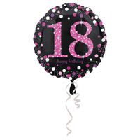 Balon foliowy 18 lat (osiemnastka) 45 cm