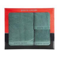 Komplet 3 ręczników PIERRE CARDIN zielony