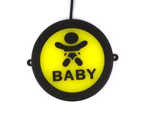 """""""BABY"""" Uwaga dziecko LED  podświetlane, wodoodporne na Arena.pl"""