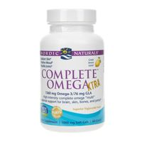 Nordic Naturals Complete Omega™ XTRA smak cytrynowy - 60 kapsułek