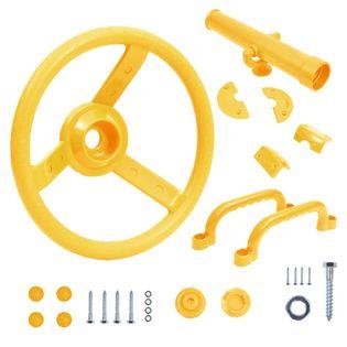 Zestaw akcesoriów do wieży do zabaw dla dzieci, żółty