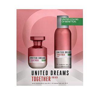 Benetton United Dreams Together Woda toaletowa 100ml zestaw upominkowy