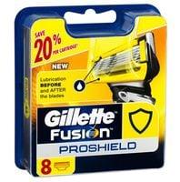 Oryginalne Wkłady Nożyki Ostrza Gillette Fusion Proshield
