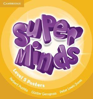 Super Minds 5 Posters Puchta Herbert, Gerngross Günter, Lewis-Jones Peter