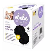 Ebebe Wkładki laktacyjne Ultra slim Czarne - 60 sztuk