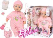 BABY ANNABELL LALKA INTERAKTYWNA 8 FUNKCJI GIRL 794401 zdjęcie 13