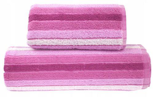 Ręcznik bawełniany Eden 50x90 różowy Greno