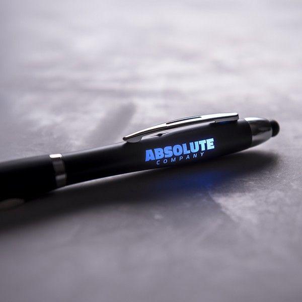 Długopis ze Wskaźnikiem LED 145974 Czarny zdjęcie 4