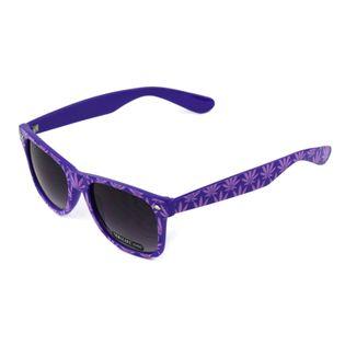 Okulary przeciwsłoneczne Wayfarer zwór Weed PURPLE