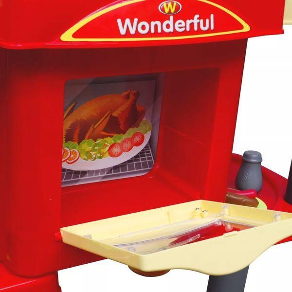 Kuchnia Dla Dzieci Duża Czerwona zdjęcie 6