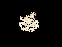 SK1614 Pisanki z motylem
