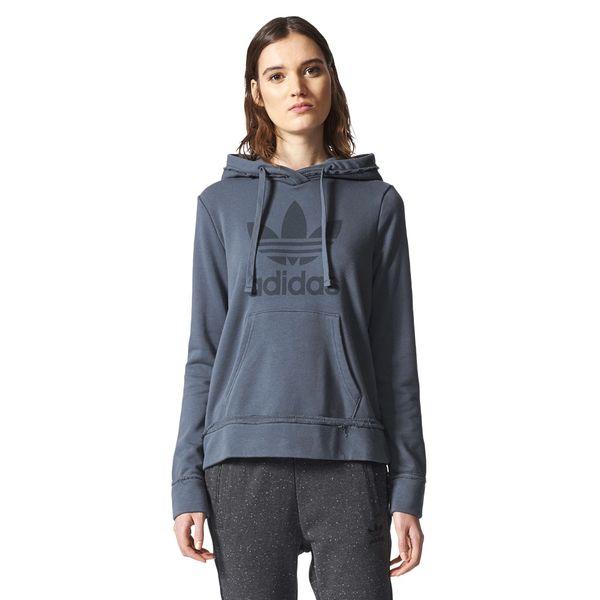 c3c90742 Bluza Adidas Originals Trefoil Hoodie damska dresowa z kapturem 38
