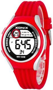 Xonix Uniwersalny zegarek, wielofunkcyjny, stoper z międzyczasem, alarm, WR 100M, antyalergiczny
