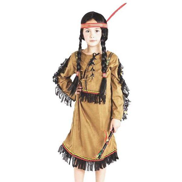 STRÓJ INDIANKA sukienka indianki KOSTIUM 110/116 na Arena.pl