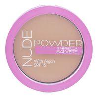 Gabriella Salvete Nude Powder SPF15 Puder 8g 04 Nude Beige