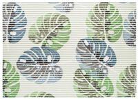 Mata łazienkowa antypoślizgowa SLOANE 65 x 45 cm pianka PVC wz. 11 liście monstera zielony