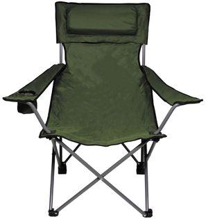 """Krzesło składane """"Deluxe"""" oliwkowe"""