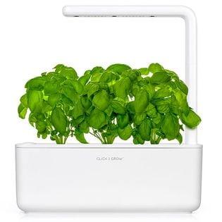 Click & Grow Smart Garden 3 biały - zielnik, ogród domowy z lampą LED
