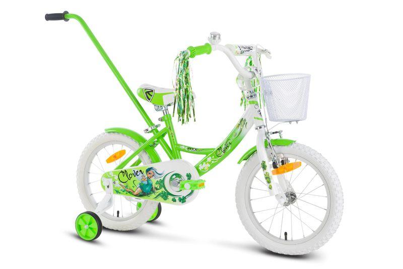 Rower 16 ROCK KIDS CLOVER zielony zdjęcie 2