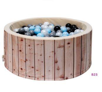 Suchy basen z piłkami 200 szt. 90x40 super prezent