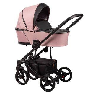 Nowość wózek dziecięcy Novis Baby-Merc 2w1 różowy