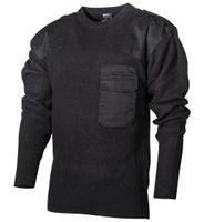 Sweter BW wojskowy czarny długi