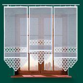 Panel żakardowy TREVO - 120x60cm - biały zdjęcie 3