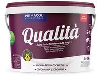 Farba lateksowa do wnętrz Qualita (5 l, biała)