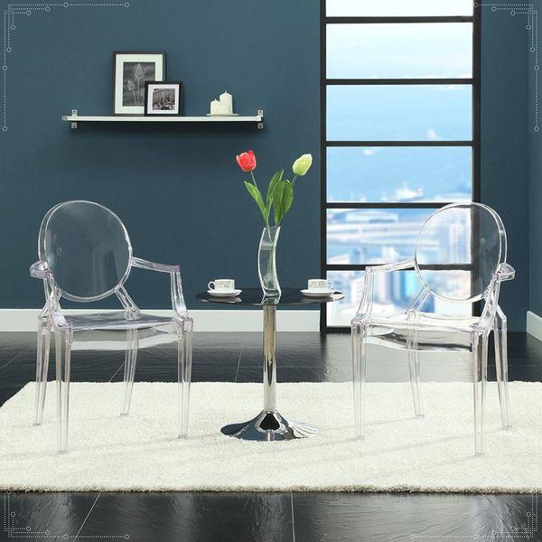 Krzesło Dankor Design Louis Ghost przezroczysty zdjęcie 6