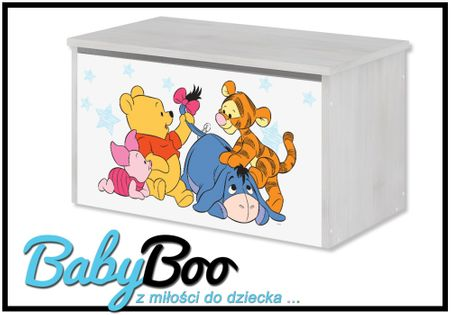 POJEMNIK NA ZABAWKI Skrzynia Baby Boo DISNEY WZORY