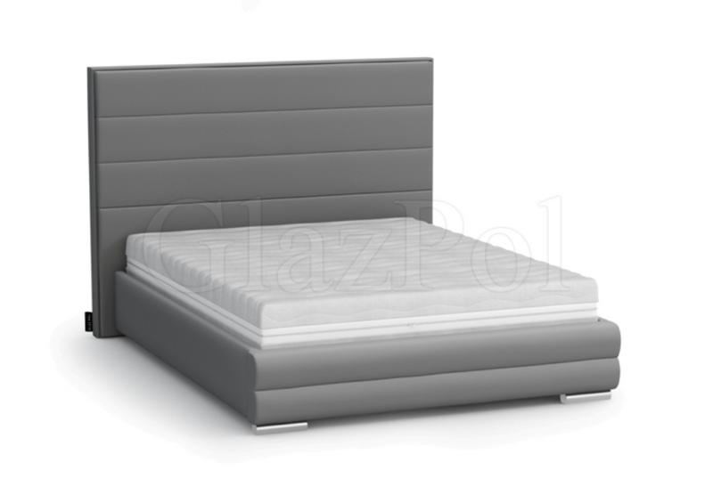 łóżko 180x200 Tapicerowane Tomek135 Materac Stelaż