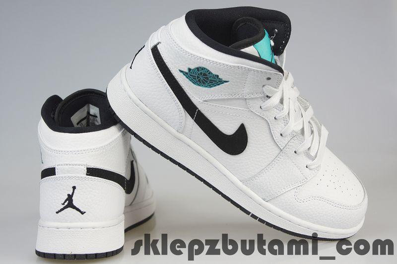Buty Nike Air Jordan 1 MID Bg 554725 122 r. 39