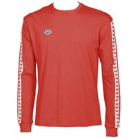 ARENA KOSZULKA UNISEX LONG SLEEVE TEAM ICONS RED-WHITE-RED ROZMIAR M