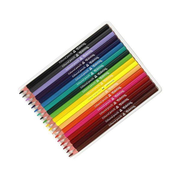 Kredki ołówkowe 18 kolorów trójkątne Colorino 57431PTR zdjęcie 2
