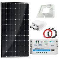 Zestaw solarny 130W Maxx 12V PWM + Uchwyty