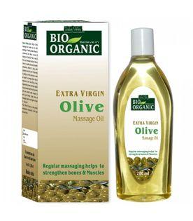 Olej z oliwek z dodatkiem innych olejów, do włosów, skóry i masażu Bio Organic 100 ml Indus Valley