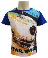 T-Shirt Star Wars Blue 10Y r140 Licencja Disney LucasFilm (ER1206)