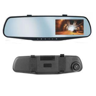 Lusterko samochodowe wideorejstrator kamera z doświetleniem nocnym FHD