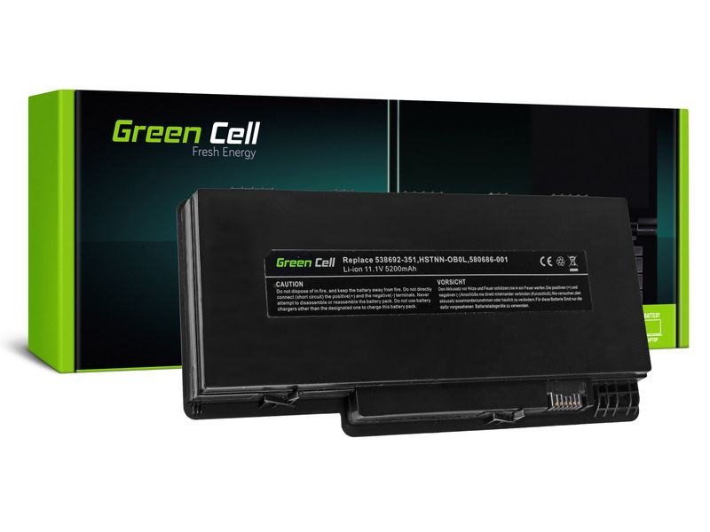 Green Cell Bateria do HP Pavilion DM3 DM3T DM3Z / 11,1V 4400mAh HP18 zdjęcie 1