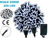 LAMPKI NA CHOINKĘ CHOINKOWE 200 LED BIAŁE ZIMNE !