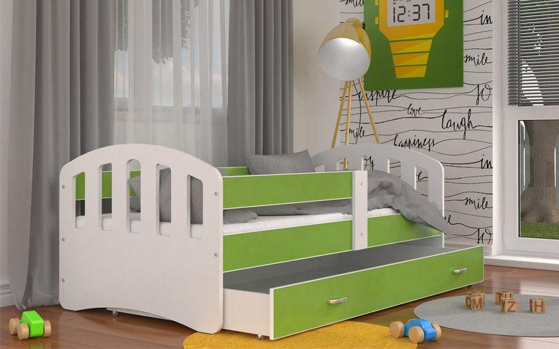 Łóżko HAPPY 160x80  szuflada + materac zdjęcie 4