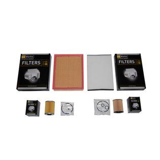 Filtry zestaw 4szt OPEL ASTRA H III mk3 1.7 CDTi