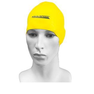 Czepek pływacki treningowy RACER Kolor - Czepki - Racer - 18 - żółty
