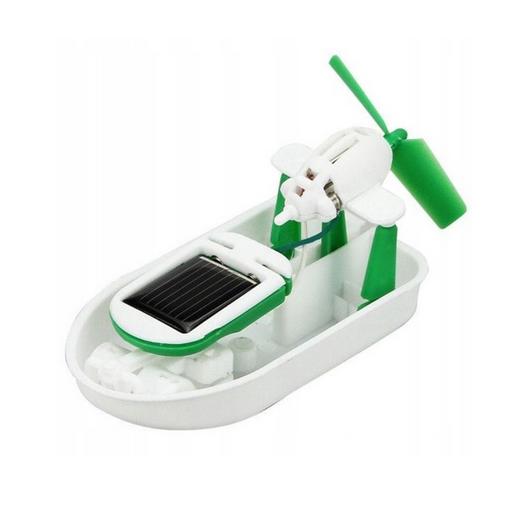 Robot Solarny Zestaw Edukacyjny 6w1 Auto Łódka zdjęcie 7